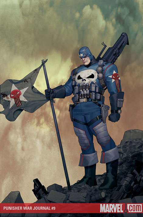 Nuevo look para The Punisher