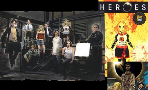 Los comics de Heroes