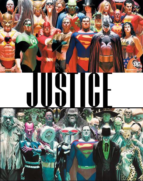 Justice, Alex Ross, envidia ajena