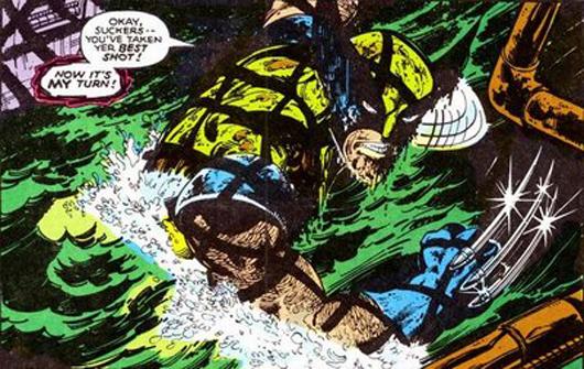 Logan contra el Club Fuego Infernal