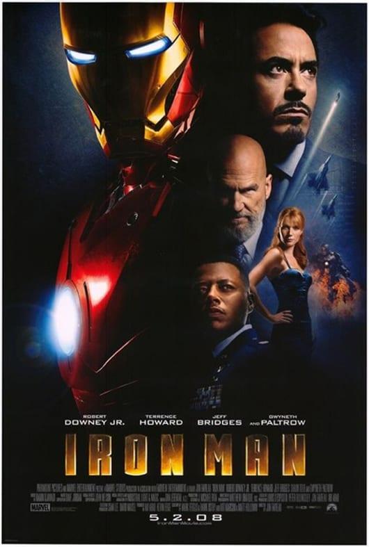 Poster Internacional Iron Man