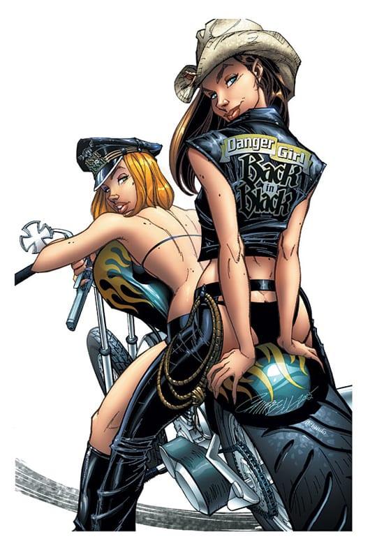 Le monde merveilleux des illustrateurs Danger-girls