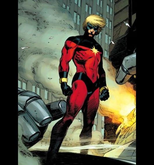 Universo DC Vs. Universo Marvel Captain-marvel-lee-weeks
