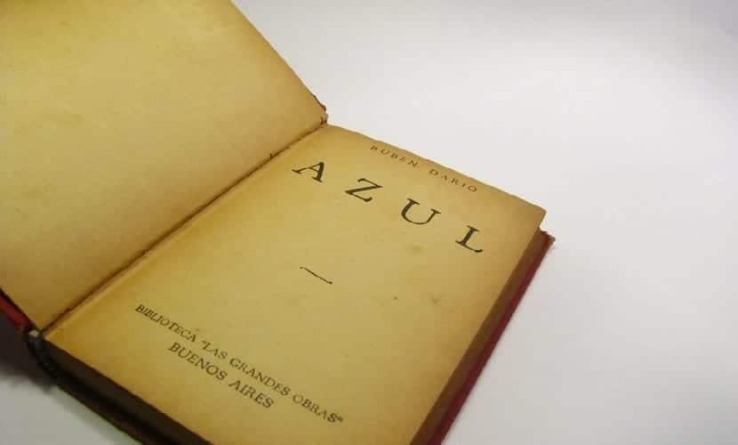 Azul, poemarío del poeta Nicaragüense Rubén Darío