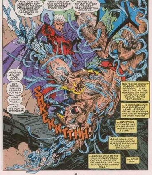 Lobezno y Magneto