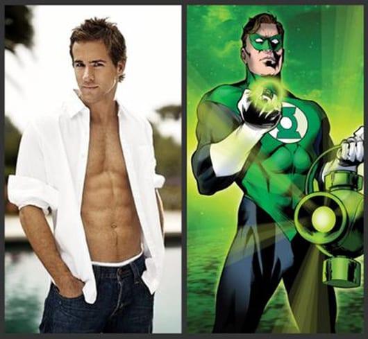 Ryan Reynolds como Green Lantern