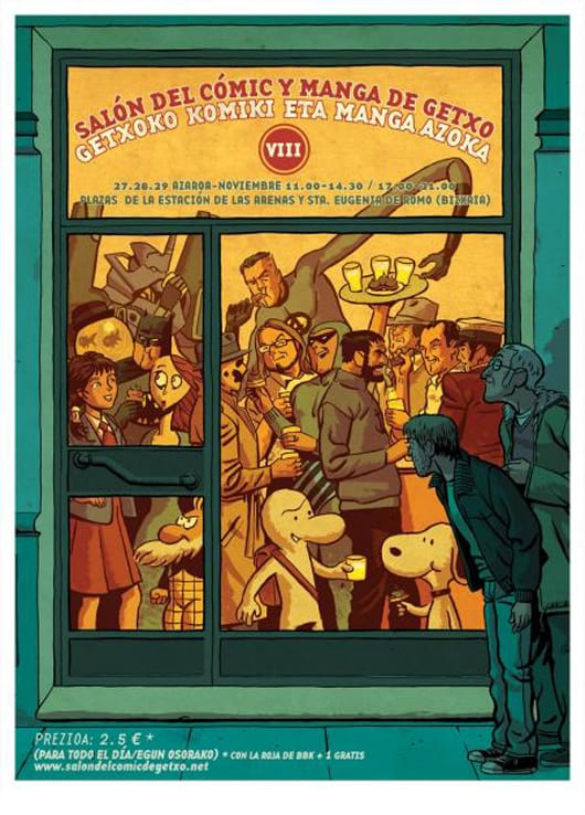 VIII Salón del Cómic y Manga de Getxo