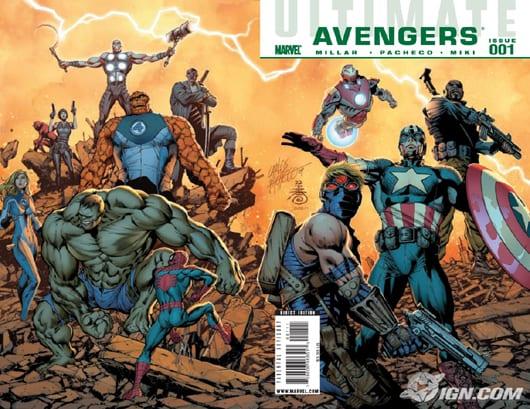 Ultimate Avengers 001