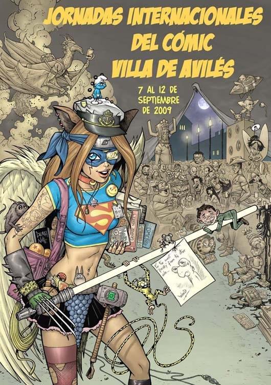 14ª Jornadas del comic de Avilés 2009