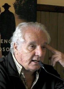 Javier Reverte y su novela Barrio Cero