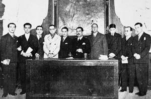 foto grupal de la generación del 27