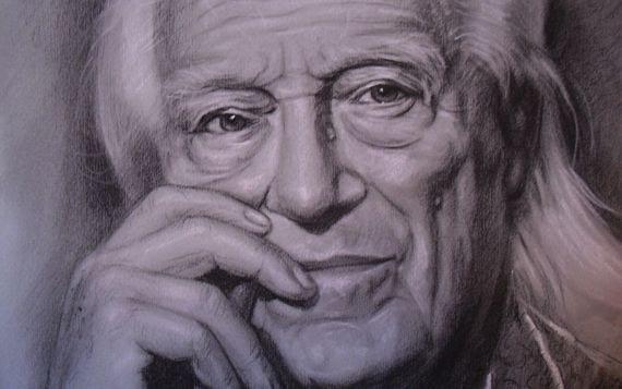 Retrato de Rafael Alberti