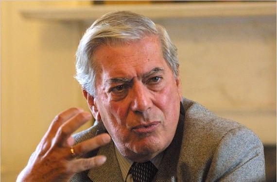 Foto de Vargas Llosa