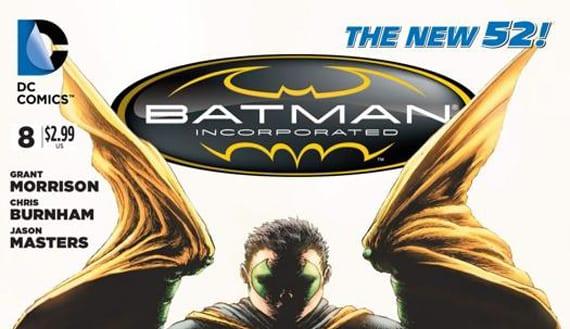 Batman, Incorporated #8 lleva sorpresa de las gordas dentro de sus páginas.