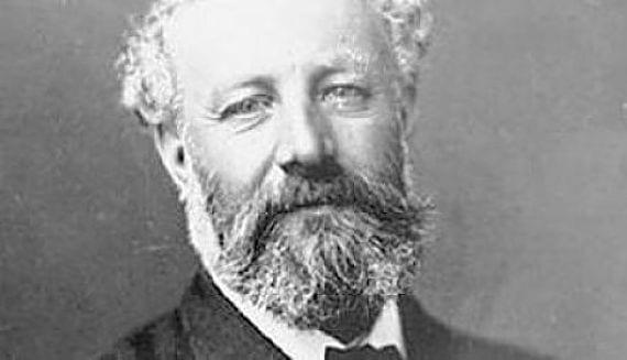 Rostro de Julio Verne