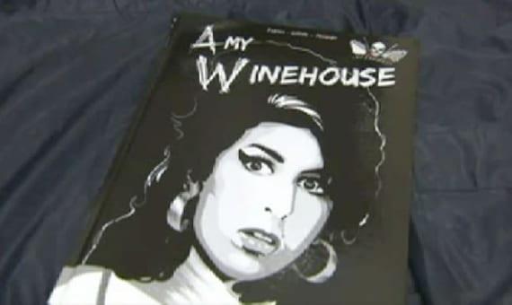 El dibujante catalán Javi Fernández ha sido el encargado de dibujar el biopic de la celebre y ya desaparecida cantante Amy Winehouse.