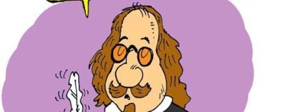 Caricatura de Francisco de Quevedo