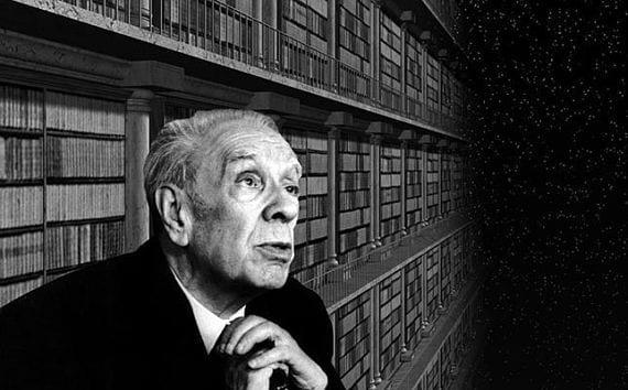 El escritor Borges