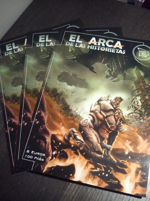 El Arca #5 ya está a la venta y esta vez viene con una portada de David Daza, dibujante español que trabaja para editoriales americanas.