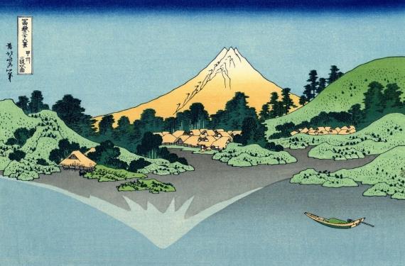 the-fuji-reflects-in-lake-kawaguchi