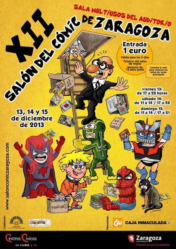 Ya hay fechas y cartel para el XII Salón del Cómic de Zaragoza.