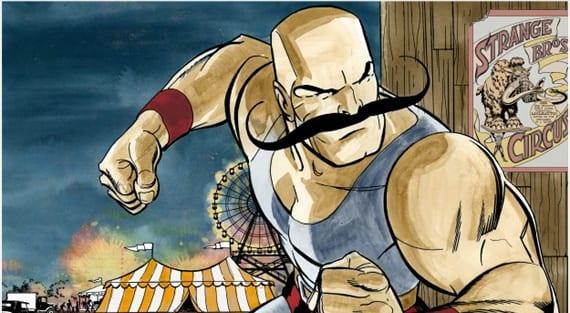 John Bogdanove y su hijo Kal-El se lanzan al crowdfunding con su proyecto, Strongman.