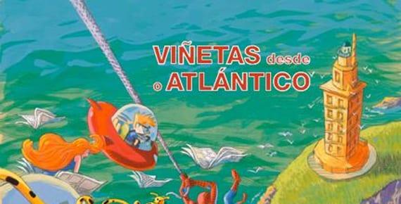 Viñetas desde o Atlántico 2013 llegaun nuevo año con invitados de lujo y un cartel hecho por Bartolomé Seguí.