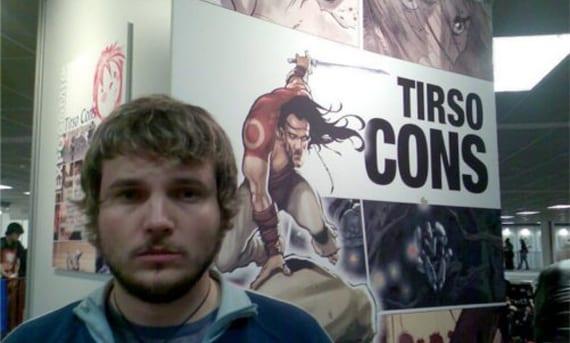 Tirso Cons ha sido galardonado con el Premio al Mejor Dibujante Europeo por su trabajo en La Casa de los Susurros (Dolmen).