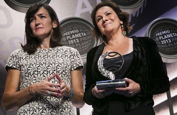 Sinde y Sánchez en el Premio Planeta