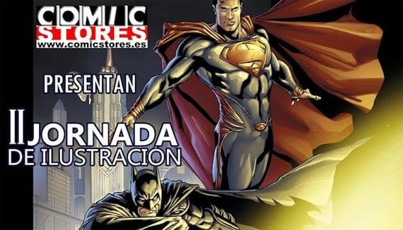 La II Jornada de Ilustración se va a celebrar el próximo sábado 30 de noviembre en Comic Stores (Málaga).