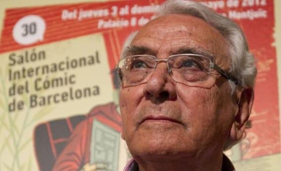 Ha muerto José Ortiz, uno de los grandes de la historieta española.