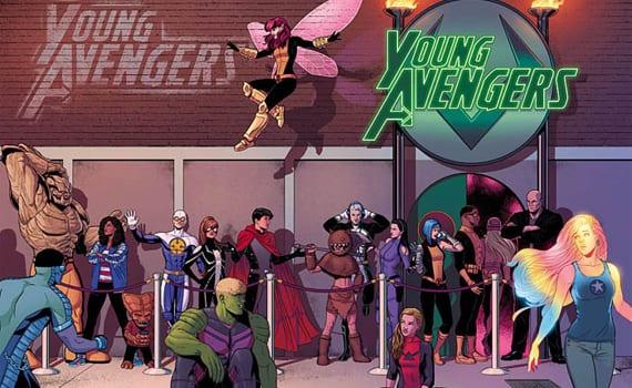 Kieron Gillen confirma que Young Avengers llega a su fin en el número #15