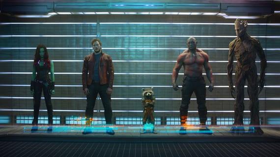 Primera imagen oficial de Los Guardianes de la Galaxía, la película que se estrena este verano.