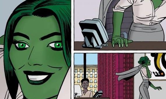El gran Javier Pulido se encargará de la nueva etapa de Hulka.