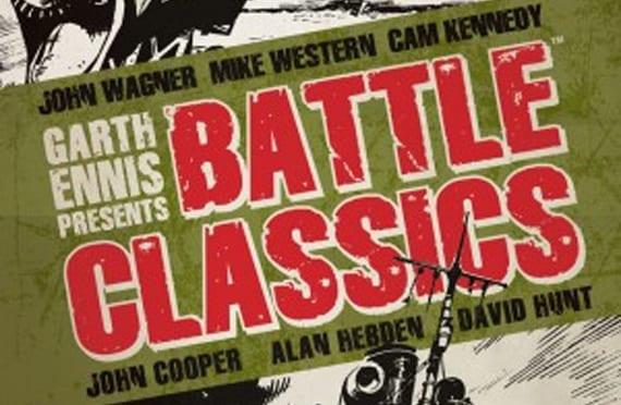 Garth Ennis ha supervisado la publicación Battle Classics para Titan Books.