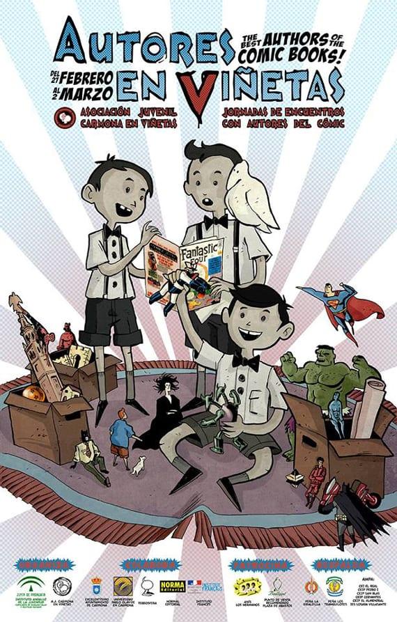 Autores en Viñetas llega a su quinta edición.
