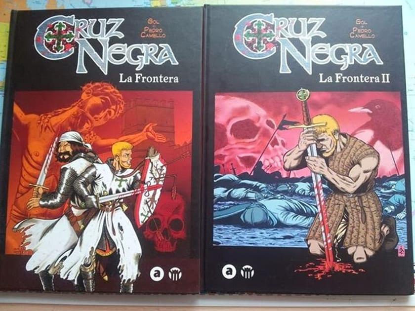 Cruz Negra y Señales, de Aleta Ediciones, se presentan este sábado en Madrid.