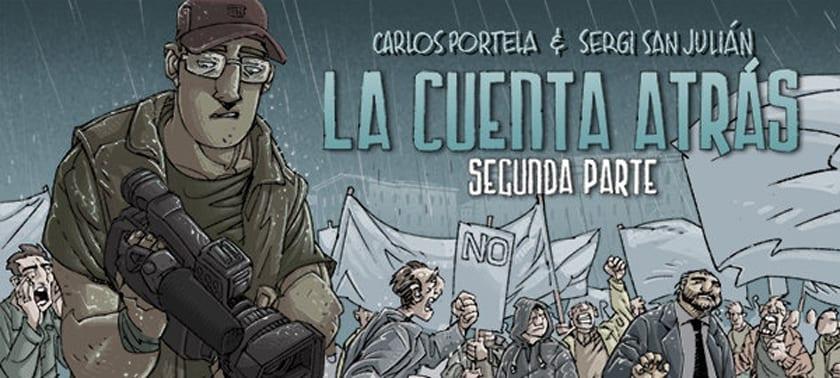 La Cuenta Atrás 2, de Carlos Portela y Sergi San Julián, puede ser una realidad si la campaña de crowdfunding tiene éxito.