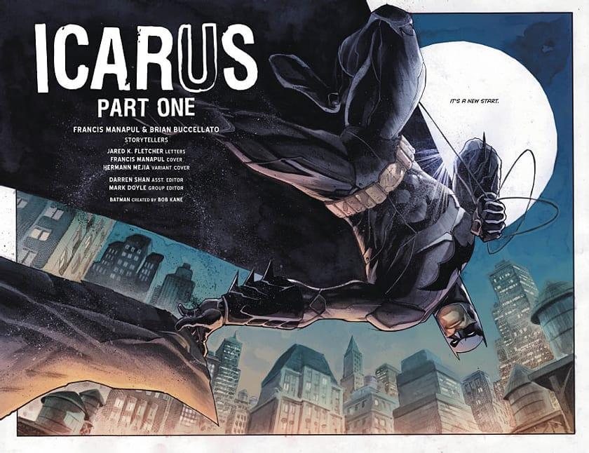 Francis Manapul y Brian Buccellato se encargan de la nueva serie de Batman: Detective Comics