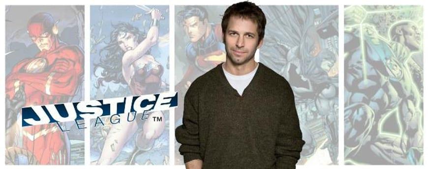 Zack Snyder dirigirá la película de La Liga de la Justicia.