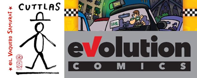 eVolution es el nuevo sello de Panini Cómics.