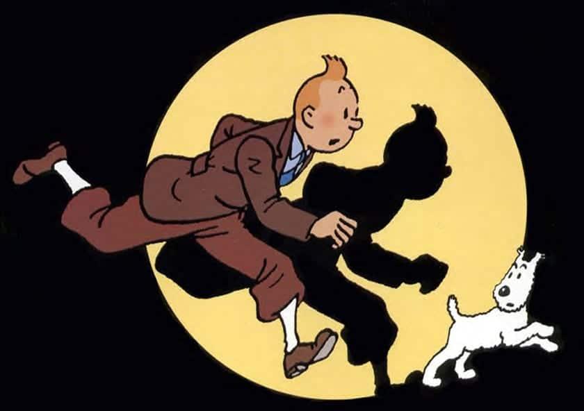 El mundo del cómic se hace hueco en Christie´s al subastarse obras de Hergé (Tintin) o Peyo (Los Pitufos).