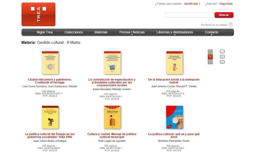Ediciones Trea recibe el Premio Nacional a la Mejor Labor Editorial 2014