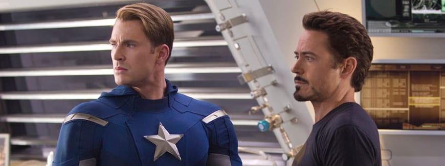 Steve Rogers y Tony Stark