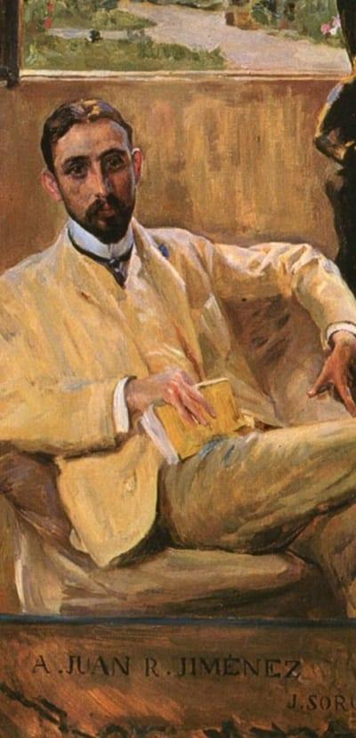 Retrato de Juan Ramón Jiménez