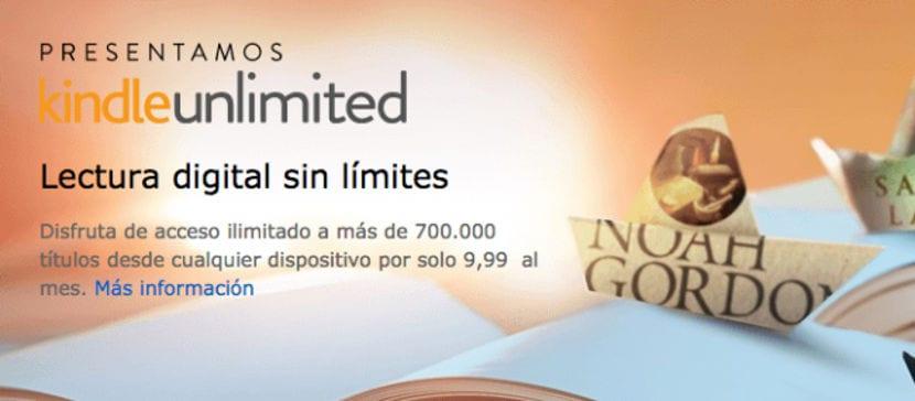Amazon estrena Kindle Unlimited en España, su tarifa plana de lectura digital