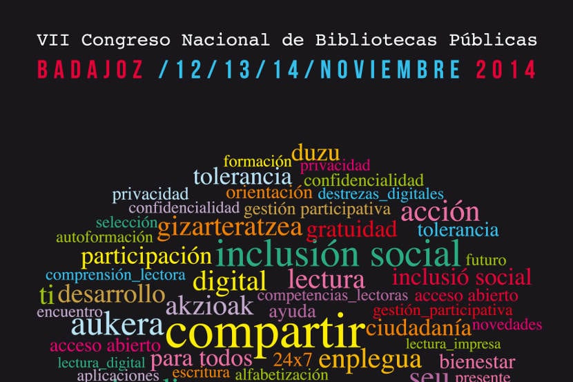 Badajoz acogerá el VII Congreso Nacional de Bibliotecas Públicas