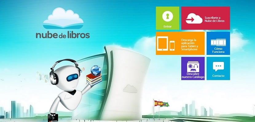 """""""Nube de Libros"""" abre su biblioteca digital en España"""