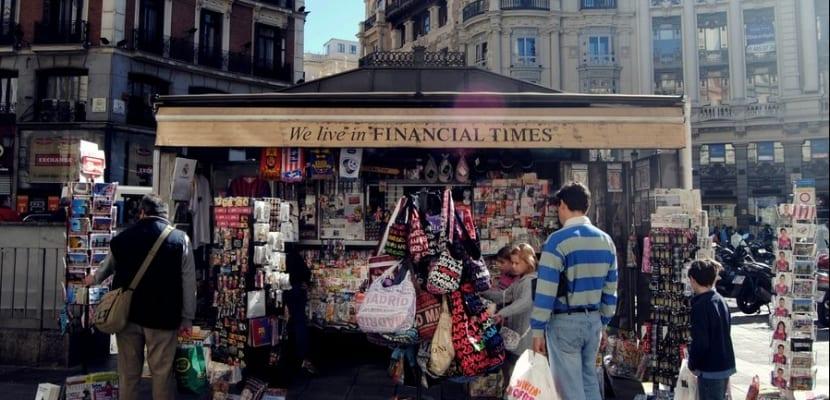 Kiosko de revistas