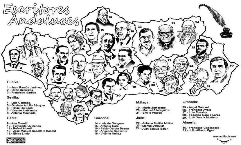 Escritores-andaluces